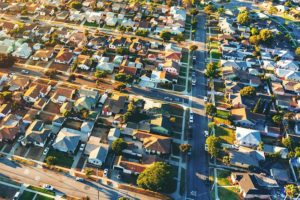 overhead of housing development