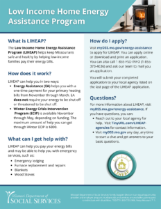 LIHEAP flyer