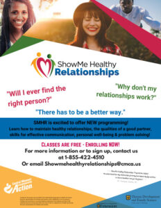 Show Me Healthy Relationships Community Class @ Virtual Event